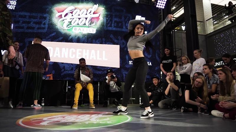 Мари vs Funny Bunny vs Dahan TOP7 DANCEHALL GOOD FOOT BATTLE 2019