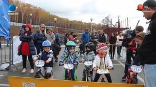 Соревнования по беговело собрали участников из Владивостока, Южно-Сахалинска и Корсакова