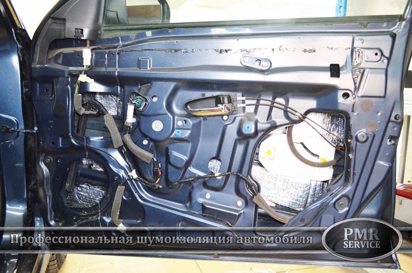 Шумоизоляция Nissan Almera, изображение №8
