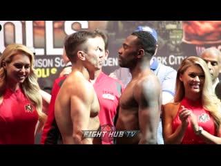 Gennady Golovkin vs Steve Rolls - Weigh In Геннадий Головкин - Стив Роллс - Взвешивание