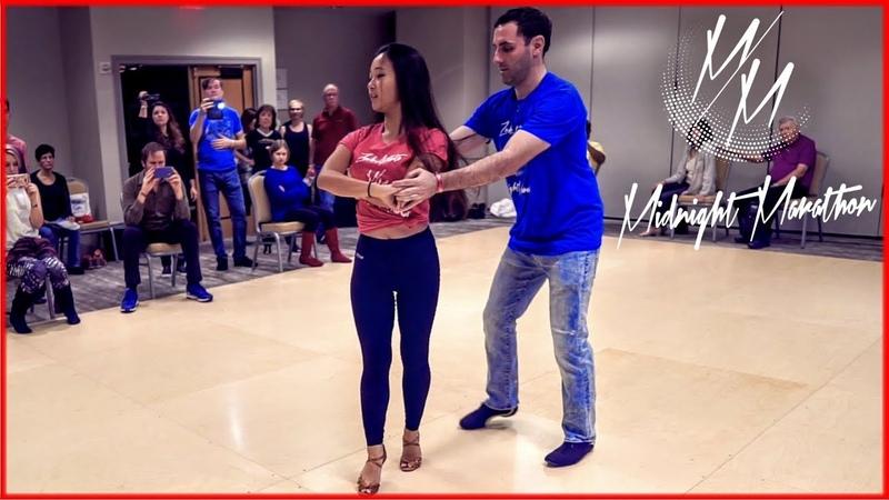 Movement Us Brazilian Zouk Dance Eddie Bonnell Emi Ferguson Midnight Marathon za