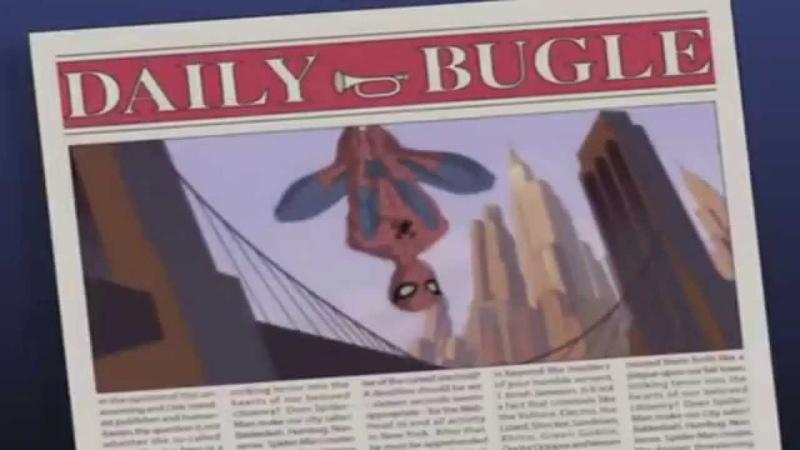 Грандиозный человек паук 2008 Заставка