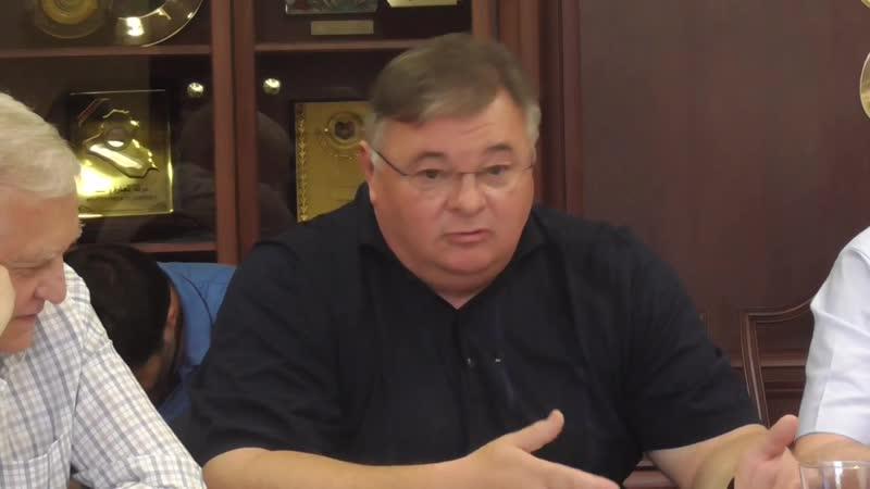 Круглий стіл з розвитку оборонних технологій Виступ Володимира Семенова АТ Мот