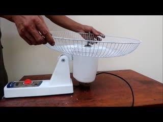 Реставрация старого настенного вентилятора.