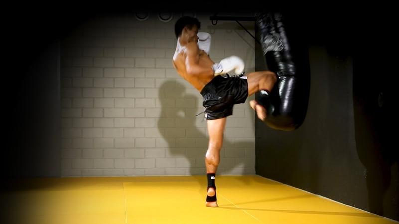 Treino com Saco de Pancada para MUAY THAI/MMA