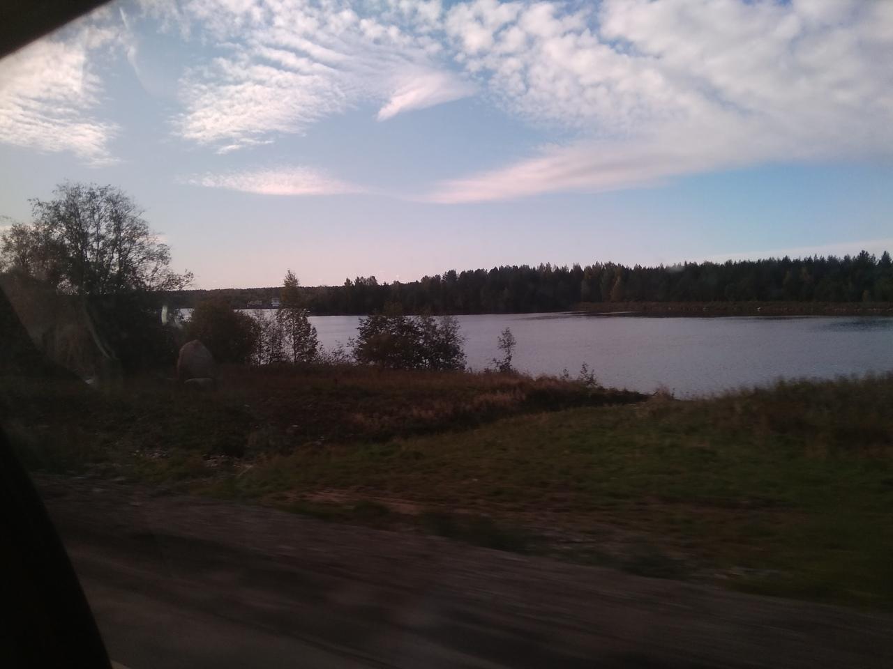 Волго-Балтийский канал - по дороге в Чаготму