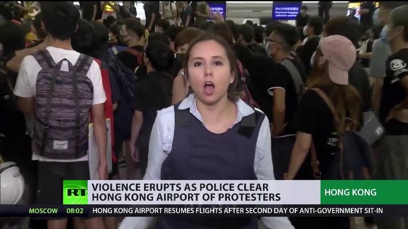 USA als Drahtzieher hinter den Protesten in Hongkong