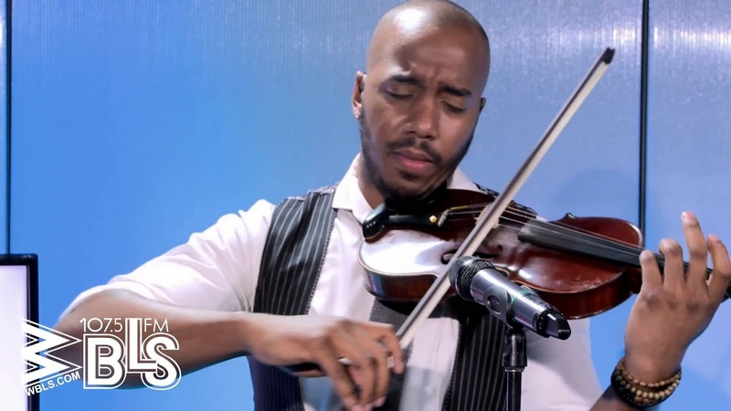 Violinist, Damien Escobar pays tribute to Whitney Houston live