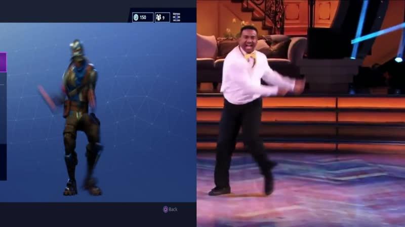 Танец из сериала Принц из Беверли Хиллз в Fortnite.