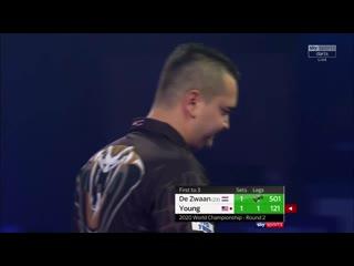 Jeffrey de Zwaan vs Darin Young (PDC World Darts Championship 2020 / Round 2)
