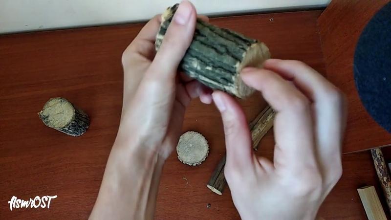 (ASMR) Wood Tapping 9