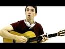 Singing Arabic Music Amr Diab Osad Einy بريطاني يغني أغنية عربية