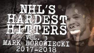 Biggest Mark Borowiecki Hits From 2017–18 | NHL's Hardest Hitters