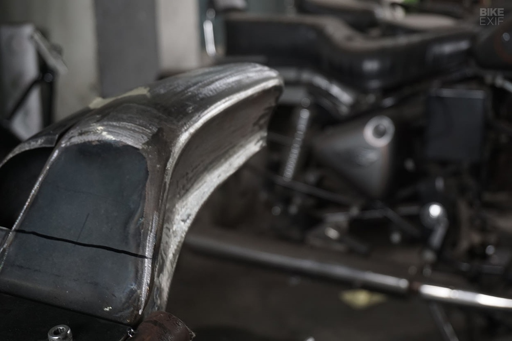 Krom Works: кафе рейсер Royal Enfield Continental GT 650