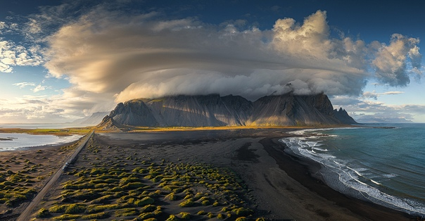 Вестрахорн, Стокснес, Исландия.