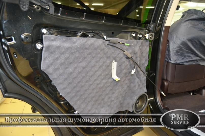 Шумоизоляция Lexus LX, изображение №17