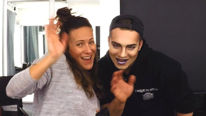 TOTEM Makeup   Spectacular Hand Balancing Performer   Cirque du Soleil