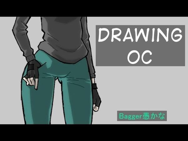 Drawing OC (Original Character) S.O.L. Manga