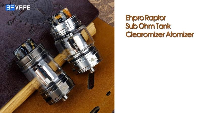 Ehpro Raptor Sub Ohm Tank Clearomizer Atomizer