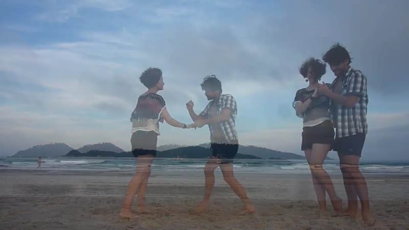 Танго Нуэво Tango Zouk Fusion na praia Campeche Beach feat Phaeleh Afterglow feat Soundmouse