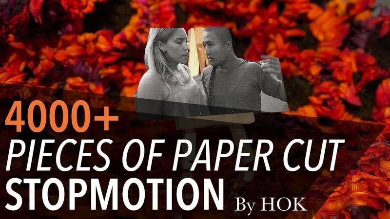 QUIZAS by @HOK A Paper Cut Stop Motion Dance