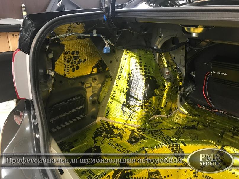 Шумоизоляция Toyota Corolla, изображение №17