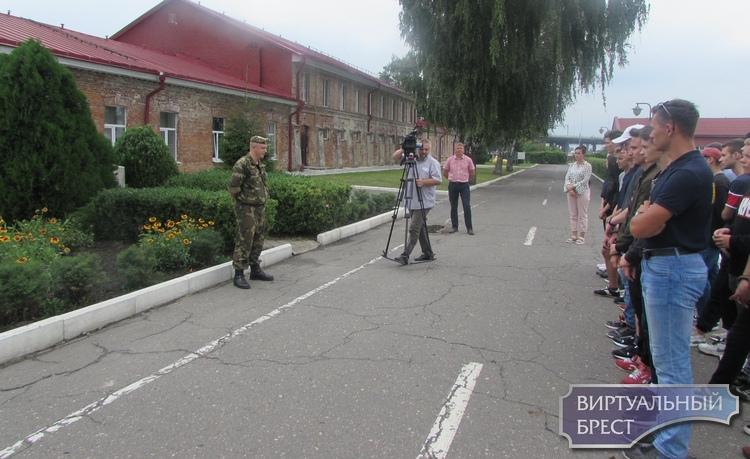 В Ленинском районе проходят 3-х дневные сборы для молодежи