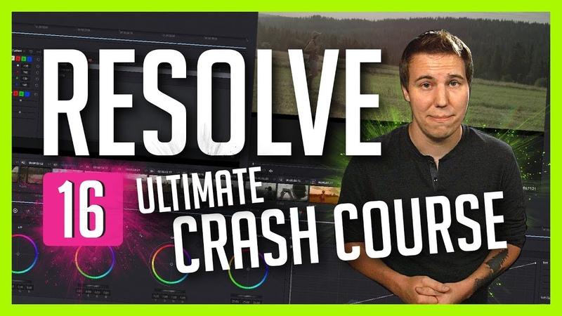 Resolve 16 The Ultimate Crash Course DaVinci Resolve Basic Training Casey Faris