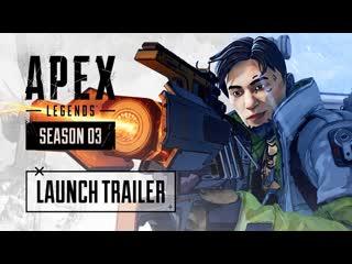 Apex legends — трейлер к выходу сезона 3 «тающий лед»