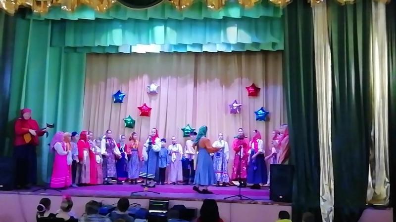 Пошла я младёшенька по малинку плясовая песня с Большой Приклон Меленковского района Владимирской области