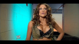 WWE Eve Torres vs Michelle McCool | Eve's Ring Debut | February 6, 2009
