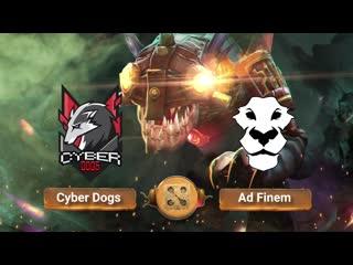 Cyber Dogs vs Ad Finem