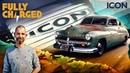 Icon Derelict 1949 Mercury - EV Resto Modding | Fully Charged
