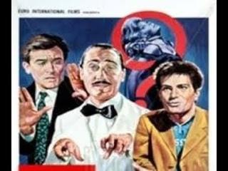 CRIMEN- 1960 con Vittorio Gassman-Alberto Sordi & Nino Manfredi-Dorian Gray-Silvana Mangano