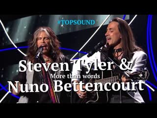 Steven Tyler & Nuno Bettencourt ► More than words [The 2014 Nobel Peace Prize Concert]