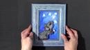 Фоамиран Презентация МК Картинка с мышкой фом арт