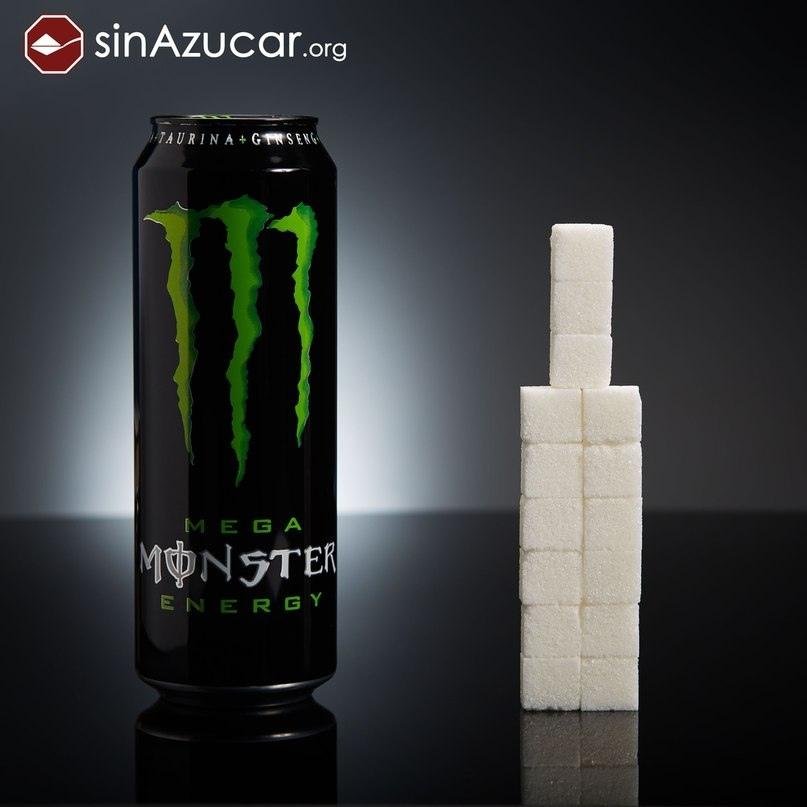 Энергетический напиток Monster.
