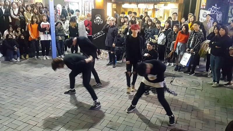 [Maxxam 댄스팀 맥스] 빅스 ☆사슬 (Chained up)☆ 커버안무 홍대댄스버스킹 20170419수 [Korean Hongdae Kpop Dance Busking]
