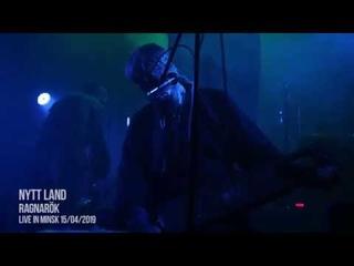 Nytt Land - Ragnarok / Official live video (Minsk )