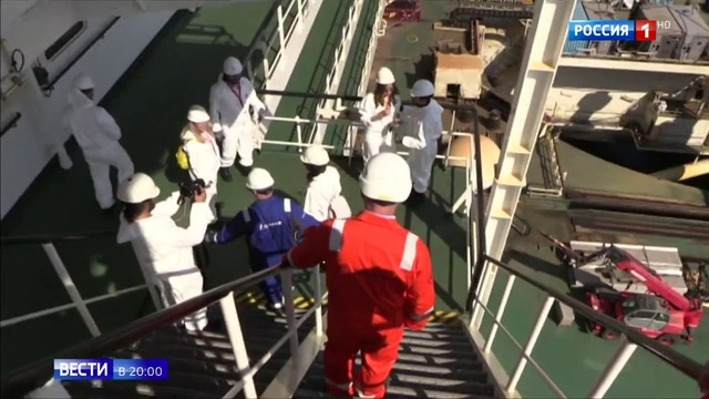 Вести в 20 00 • Уникальные технологии и рекорды морской участок первой нитки Турецкого потока построен