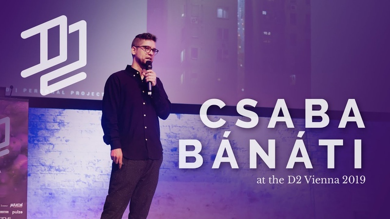 Csaba Bánáti D2 Vienna 2019 Full Talk generously supported by Autodesk