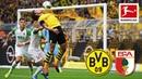 Borussia Dortmund vs. FC Augsburg I 5-1 I Sancho, Alcacer, Reus and Brandt Score - Highlights