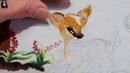 Young Deer ... Hand Embroidery