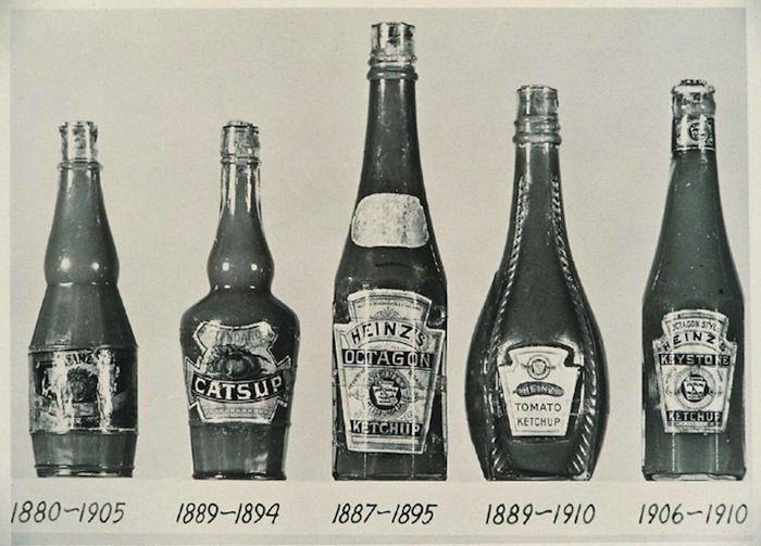 Генри Хайнц намеренно поместил свой кетчуп в прозрачные бутылки
