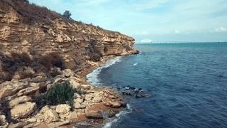 Керчь и её окрестности. #165 Морское побережье возле крепости Керчь.