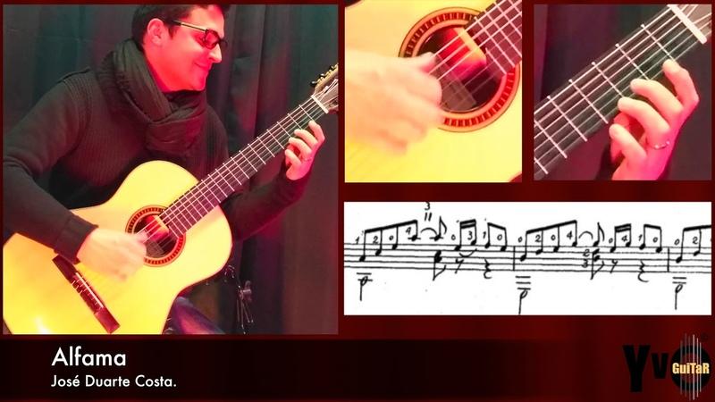 Видео Alfama | Fado de Lisboa | Duarte Costa | Played for a Student смотреть онлайн