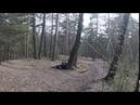 Саня решил исполнить сальто через руль Жёсткий фэйл в дерево!