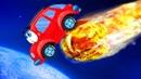 2 и про машинку Вилли игровое видео про красную машинку Wheelie развивающее видео