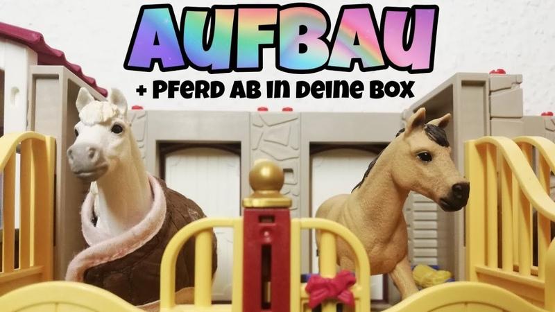 Ich baue meinen Schleich Hof mit euch auf 🐴 Pferd ab in deine Box ❤️