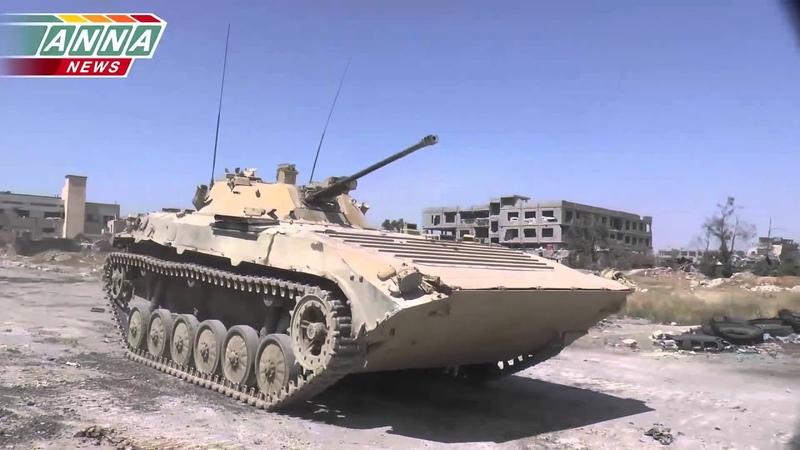 Операция Сирийской армии в Джобаре (р-н Дамаска). Бои за частный сектор. Часть 2